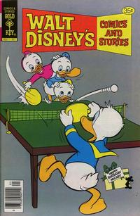 Cover Thumbnail for Walt Disney's Comics and Stories (Western, 1962 series) #v39#4 / 460 [Gold Key Variant]