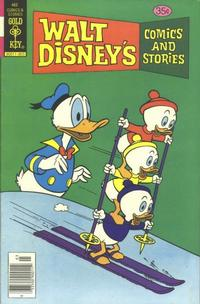 Cover Thumbnail for Walt Disney's Comics and Stories (Western, 1962 series) #v39#6 / 462 [Gold Key Variant]
