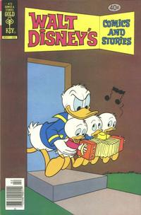 Cover Thumbnail for Walt Disney's Comics and Stories (Western, 1962 series) #v40#5 / 473 [Gold Key Variant]