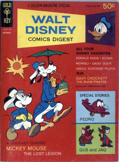 Cover for Walt Disney Comics Digest (Western, 1968 series) #17