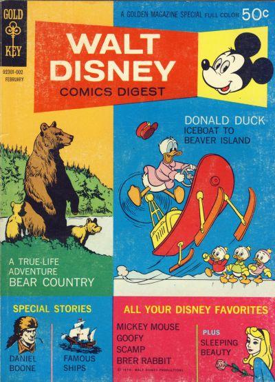 Cover for Walt Disney Comics Digest (Western, 1968 series) #20
