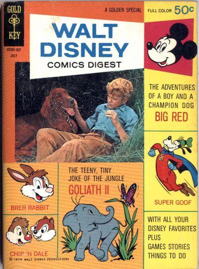 Cover for Walt Disney Comics Digest (Western, 1968 series) #23