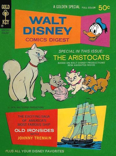 Cover for Walt Disney Comics Digest (Western, 1968 series) #27