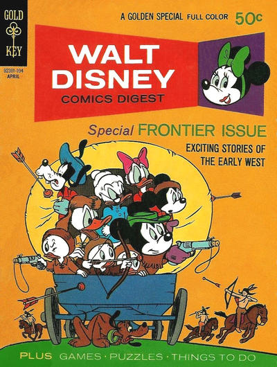 Cover for Walt Disney Comics Digest (Western, 1968 series) #28
