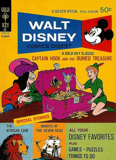 Cover for Walt Disney Comics Digest (Western, 1968 series) #31