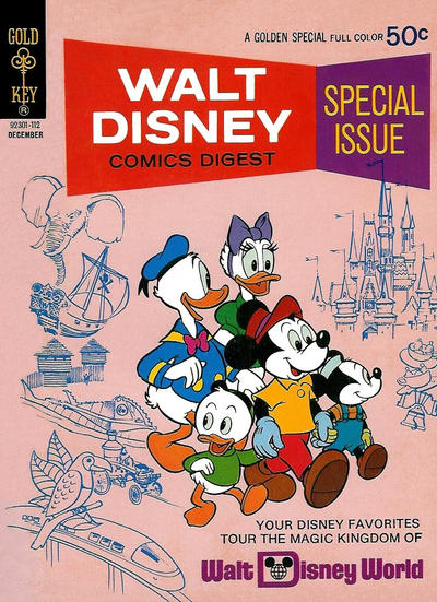 Cover for Walt Disney Comics Digest (Western, 1968 series) #32