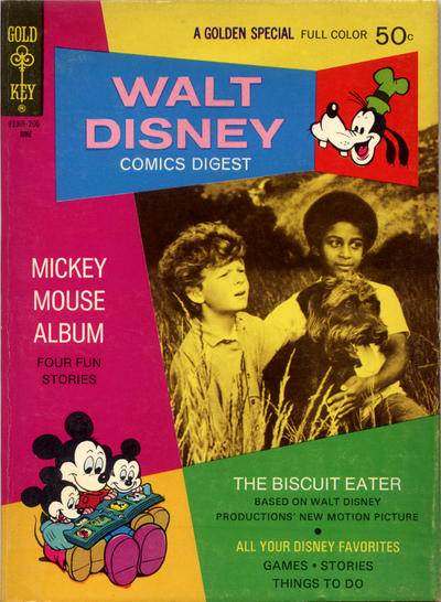 Cover for Walt Disney Comics Digest (Western, 1968 series) #35