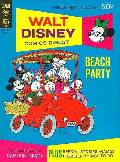 Cover for Walt Disney Comics Digest (Western, 1968 series) #36