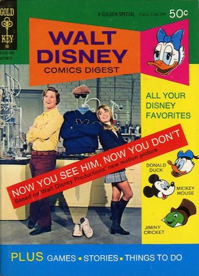 Cover for Walt Disney Comics Digest (Western, 1968 series) #37