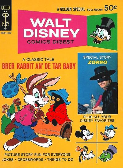 Cover for Walt Disney Comics Digest (Western, 1968 series) #39