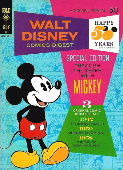 Cover for Walt Disney Comics Digest (Western, 1968 series) #40