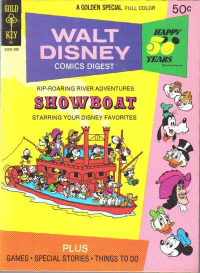 Cover for Walt Disney Comics Digest (Western, 1968 series) #41