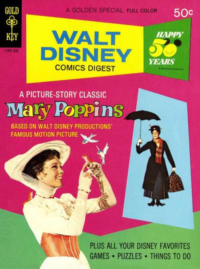 Cover for Walt Disney Comics Digest (Western, 1968 series) #42