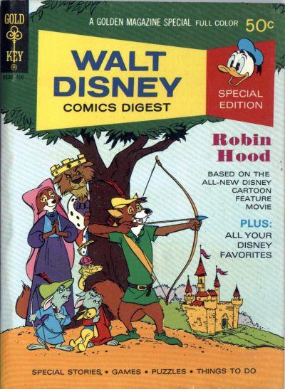 Cover for Walt Disney Comics Digest (Western, 1968 series) #47