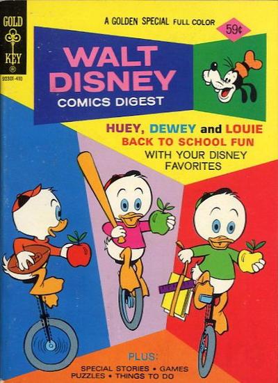 Cover for Walt Disney Comics Digest (Western, 1968 series) #49
