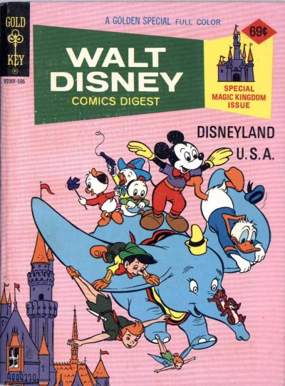 Cover for Walt Disney Comics Digest (Western, 1968 series) #53 [Whitman]