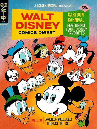 Cover for Walt Disney Comics Digest (Western, 1968 series) #56