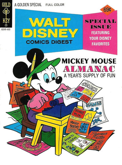 Cover for Walt Disney Comics Digest (Western, 1968 series) #57