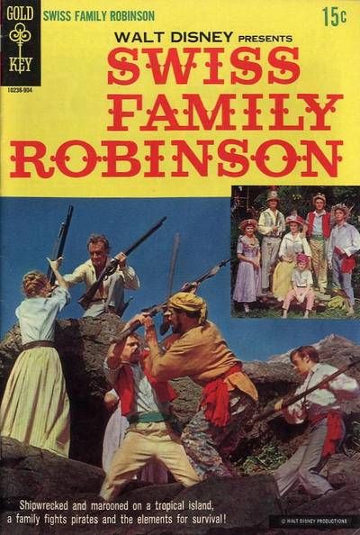 Cover for Walt Disney Presents Swiss Family Robinson (Western, 1969 series)