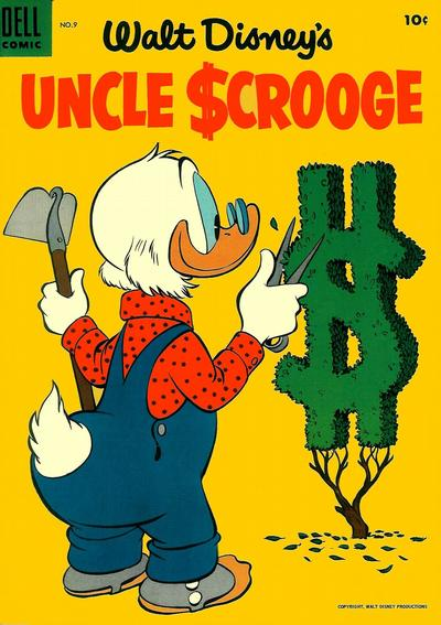 Cover for Uncle Scrooge (Dell, 1953 series) #9