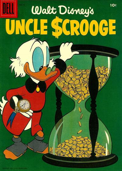 Cover for Uncle Scrooge (Dell, 1953 series) #12