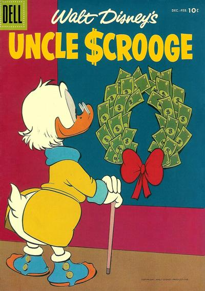Cover for Uncle Scrooge (Dell, 1953 series) #16