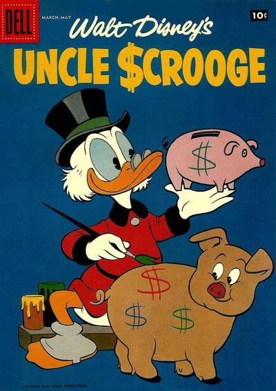 Cover for Uncle Scrooge (Dell, 1953 series) #21