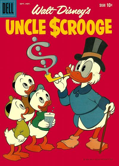 Cover for Uncle Scrooge (Dell, 1953 series) #27