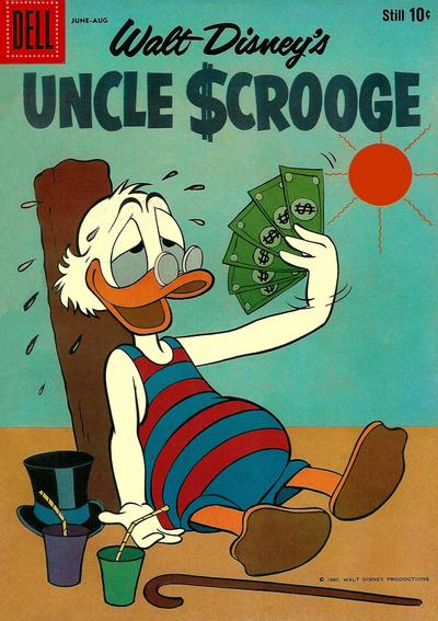 Cover for Uncle Scrooge (Dell, 1953 series) #30