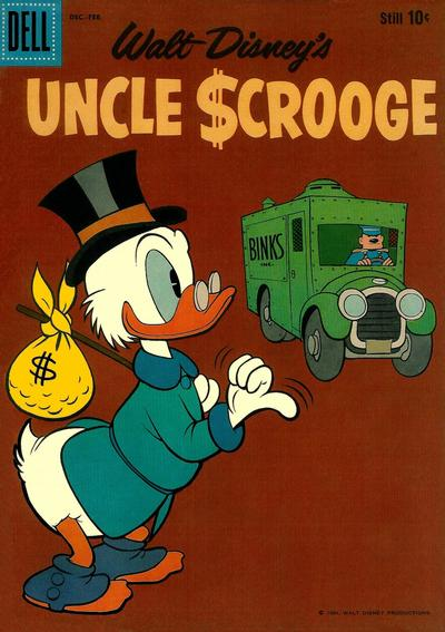 Cover for Uncle Scrooge (Dell, 1953 series) #32