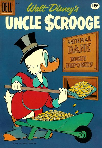Cover for Uncle Scrooge (Dell, 1953 series) #33