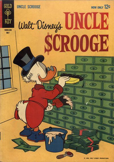 Cover for Uncle Scrooge (Western, 1963 series) #42