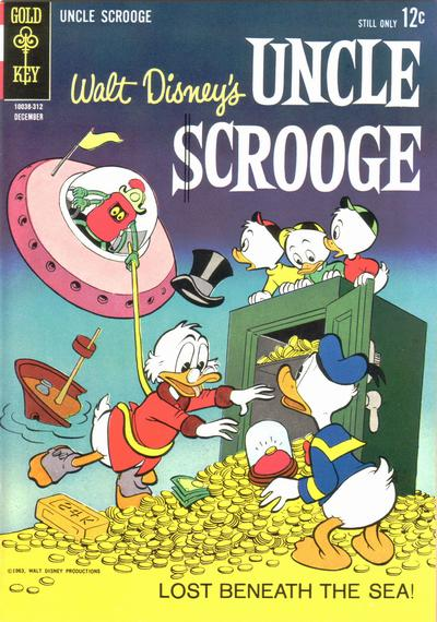 Cover for Uncle Scrooge (Western, 1963 series) #46