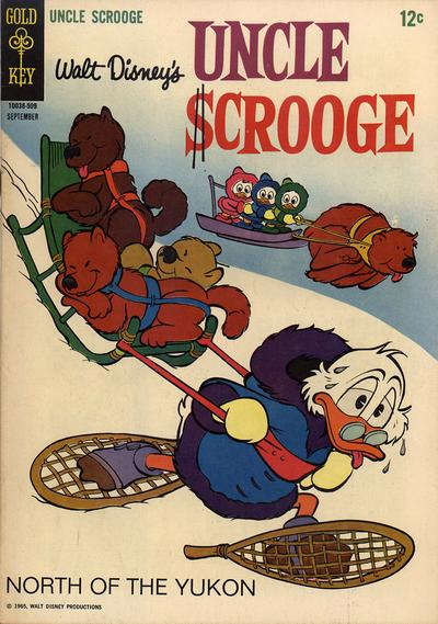 Cover for Uncle Scrooge (Western, 1963 series) #59