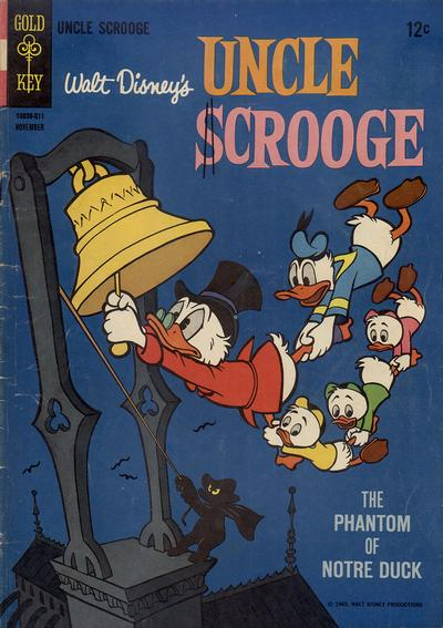 Cover for Uncle Scrooge (Western, 1963 series) #60
