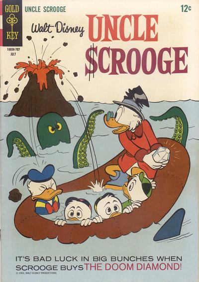 Cover for Uncle Scrooge (Western, 1963 series) #70