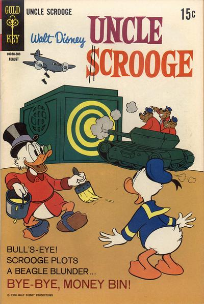 Cover for Uncle Scrooge (Western, 1963 series) #76