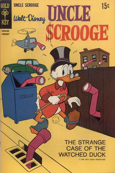 Cover for Uncle Scrooge (Western, 1963 series) #79