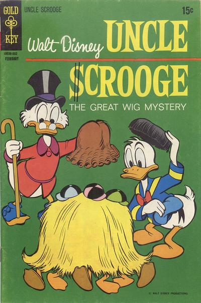 Cover for Uncle Scrooge (Western, 1963 series) #85