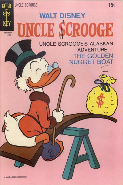 Cover for Uncle Scrooge (Western, 1963 series) #86