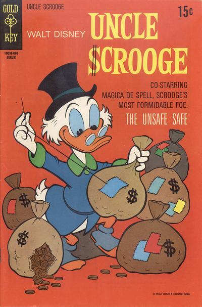 Cover for Uncle Scrooge (Western, 1963 series) #88
