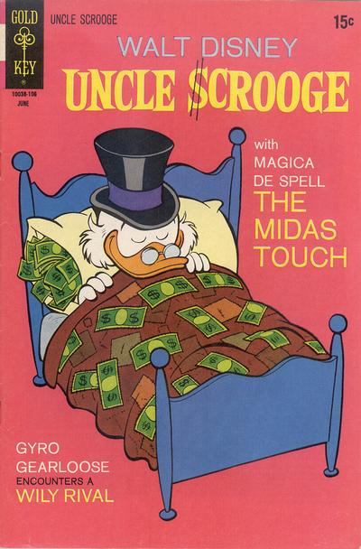 Cover for Uncle Scrooge (Western, 1963 series) #93