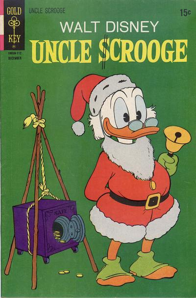 Cover for Uncle Scrooge (Western, 1963 series) #96 [Whitman]