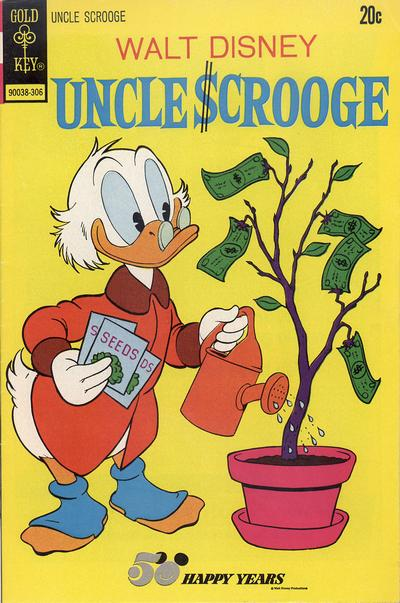 Cover for Uncle Scrooge (Western, 1963 series) #105