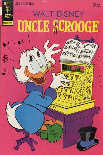 Cover for Uncle Scrooge (Western, 1963 series) #106 [Gold Key]
