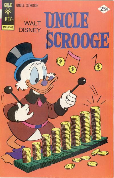 Cover for Uncle Scrooge (Western, 1963 series) #119