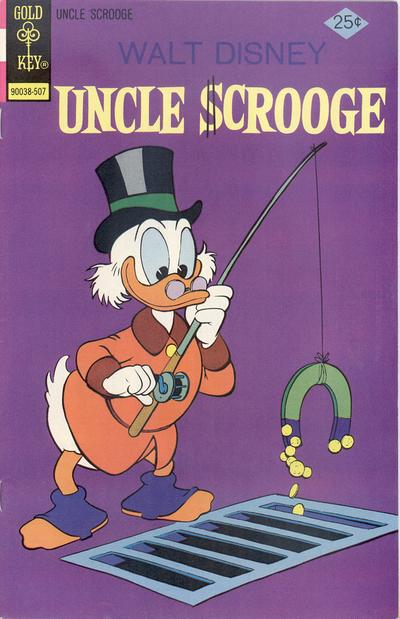 Cover for Uncle Scrooge (Western, 1963 series) #120