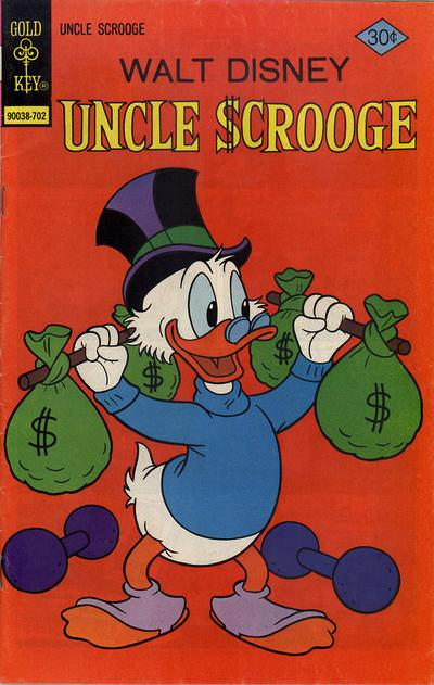 Cover for Uncle Scrooge (Western, 1963 series) #137 [Gold Key]