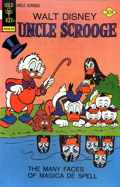 Cover for Uncle Scrooge (Western, 1963 series) #138 [Gold Key]