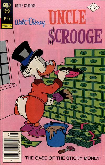 Cover for Walt Disney Uncle Scrooge (Western, 1963 series) #141 [Gold Key]